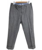 PT01(ピーティーゼロウーノ)の古着「ウールパンツ」|グレー