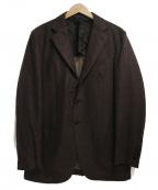 CARUSO(カルーゾ)の古着「3Bウールテーラードジャケット」|ブラウン