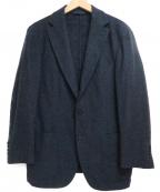 Belvest(ベルベスト)の古着「ウールテーラードジャケット」|ネイビー