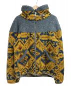 THE NORTHFACE PURPLELABEL(ザノースフェイスパープルレーベル)の古着「Mountain Fleece Jacket」|イエロー