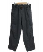 kolor/BEACON(カラービーコン)の古着「コットンワイドストレッチパンツ」|グレー