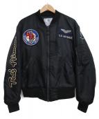 TED COMPANY(テッドカンパニー)の古着「L-2Bフライトジャケット」|ブラック