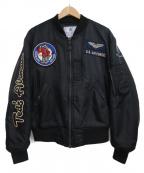TED COMPANY(テッドカンパニー)の古着「L-2Bフライトジャケット」 ブラック