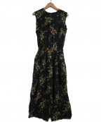 SACRA(サクラ)の古着「MULTI FLOWERワンピース」|ブラック