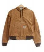 CarHartt(カーハート)の古着「Active jacket」|ブラウン