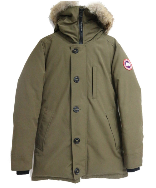 CANADA GOOSE(カナダグース)CANADA GOOSE (カナダグース) ダウンジャケット カーキ サイズ:S 未使用品 ASPER PARKAの古着・服飾アイテム