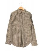 ()の古着「チェックシャツ」|ブラウン