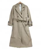 1er Arrondissement(プルミエ アロンディスモン)の古着「ベルテッドコート」|ベージュ