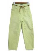 LEVIS(リーバイス)の古着「バレルジーンズ」|グリーン