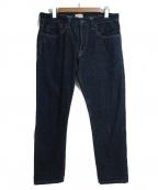 SIMON MILLER(サイモンミラー)の古着「スリムテーパードジーンズ」|ネイビー