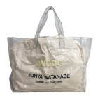 JUNYA WATANABE MAN(ジュンヤワタナベマン)の古着「PVCトートバッグ」|クリア