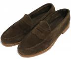 G.H.BASS(ジーエイチバス)の古着「スエードローファー」|ブラウン