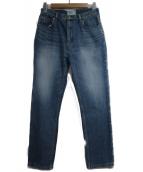 SERGE de bleu(サージ)の古着「デニムパンツ」|ネイビー