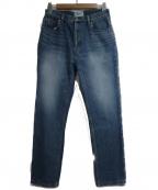 SERGE de bleu(サージ デ ブルー)の古着「デニムパンツ」|ネイビー