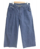 45rpm(フォーティファイブアールピーエム)の古着「デニムパンツ」|ネイビー