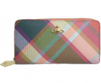 Vivienne Westwood(ヴィヴィアンウエストウッド)の古着「ラウンドファスナー長財布」|マルチカラー