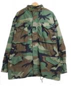 US ARMY(ユーエスアーミー)の古着「[古着]カモフラM65フィールドジャケット」|グリーン