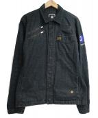 G-STAR RAW(ジースターロウ)の古着「スナップボタンジャケット」|ブラック