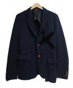 COMME des GARCONS(コムデギャルソン)の古着「テーラードジャケット」 ネイビー