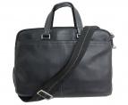 COACH(コーチ)の古着「レキシントン コミューター ビジネスバッグ」|ブラック