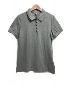 BURBERRY BRIT(バーバリーブリット)の古着「ポロシャツ」|グレー
