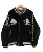 TED COMPANY(テッドカンパニー)の古着「スカジャン」 ブラック