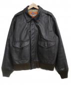 cooper(クーパー)の古着「A-2フライトジャケット」|ブラウン