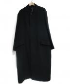 allegri(アレグリ)の古着「カシミヤ混コート」|ブラック