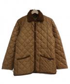 LAVENHAM(ラベンハム)の古着「キルティングコート」|ベージュ