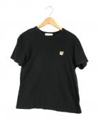 maison kitsune(メゾンキツネ)の古着「Tシャツ」|ブラック