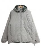 ALPHA INDUSTRIES(アルファインダストリーズ)の古着「中綿ジャケット」|グレー