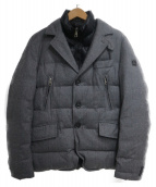 HETREGO(エトレゴ)の古着「テーラード ダウンジャケット」|ブラック