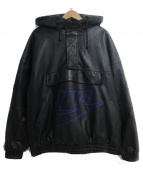 SUPREME×NIKE(シュプリーム × ナイキ)の古着「Leather Bomber Jacket」 ブラック