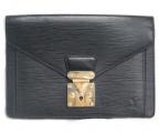 LOUIS VUITTON(ルイ ヴィトン)の古着「ポシェット セリエ ドラゴンヌ」|ブラック