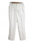 BEIGE(ベイジ)の古着「LUSTER パンツ」 ホワイト