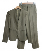 BEIGE(ベイジ)の古着「LUSTERセットアップスーツ」|カーキ