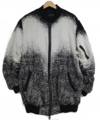 REPRESENT(リプレゼント)の古着「ブルゾン」 ホワイト×ブラック