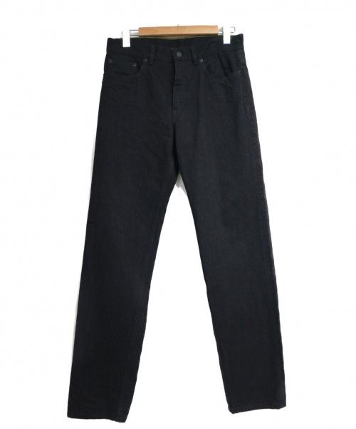 LOUIS VUITTON(ルイ ヴィトン)LOUIS VUITTON (ルイヴィトン) サークル刺繍デニムパンツ ブラック サイズ:W29の古着・服飾アイテム