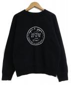 agnes b(アニエスベー)の古着「クルーネックスウェット」|ブラック