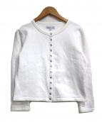 agnes b(アニエスベー)の古着「カーディガンプレッション」|ホワイト