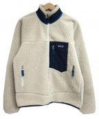 Patagonia()の古着「クラシックレトロXジャケット」|ホワイト