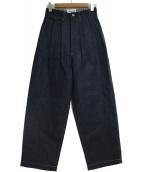 JUNYA WATANABE CdG(ジュンヤワタナベコムデギャルソン)の古着「デニムパンツ」 ネイビー
