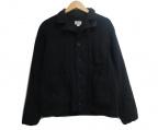 FWk Engineered Garments(エフダブリューケーエンジニアードガーメンツ)の古着「カシミヤ混ジップジャケット」|ブラック
