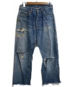 LEVIS(リーバイス)の古着「ヴィンテージデニムパンツ」|スカイブルー