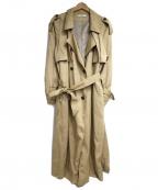 Ungrid(アングリッド)の古着「ルーズトレンチコート」 ベージュ