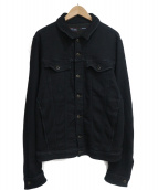 DIESEL(ディーゼル)の古着「デニムジャケット」|ブラック