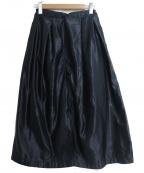FWk Engineered Garments(エフダブリューケーエンジニアードガーメンツ)の古着「フロントボタンスカート」|ネイビー