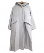 La TOTALITE(ラトータリテ)の古着「フーデッドコート」|グレー