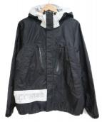 ()の古着「Taped Seam Jacket 」 ブラック