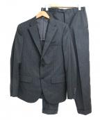 COMME CA ISM(コムサイズム)の古着「カノニコ super110'sセットアップスーツ」 グレー